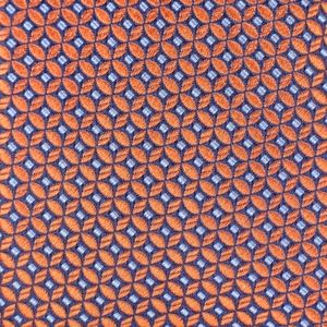 Chaps Mens Necktie Green Blue Geometric Tie